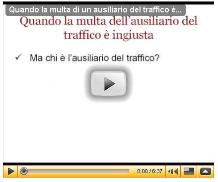 le multe ingiuste degli ausiliari del traffico