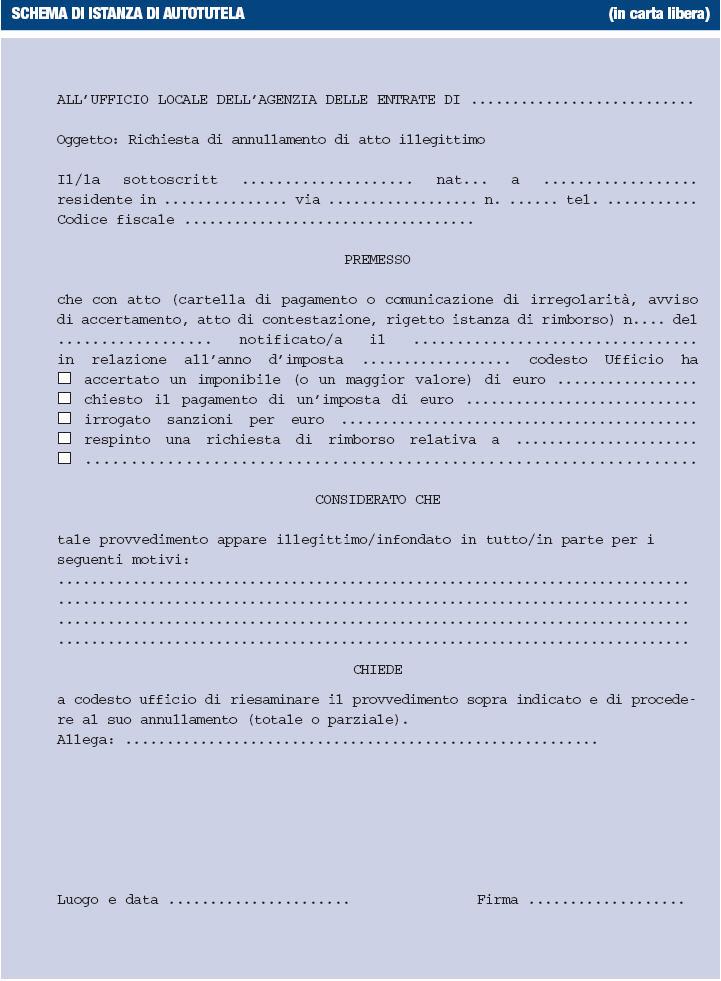 schema-di-istanza-di-autotutela-figura1
