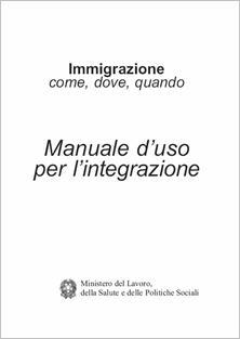 manuale per l'integrazione degli immigrati