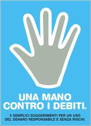 una mano contro i debiti