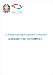 GARANZIA LEGALE SUI BENI DI CONSUMO - ECCO I DIRITTI DEI CONSUMATORI