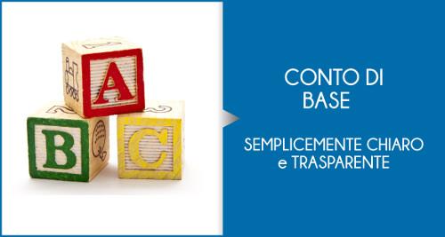 Il conto corrente di base o conto corrente semplice