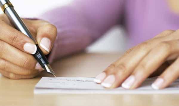 Quando un assegno con data in bianco viene riempito dal beneficiario