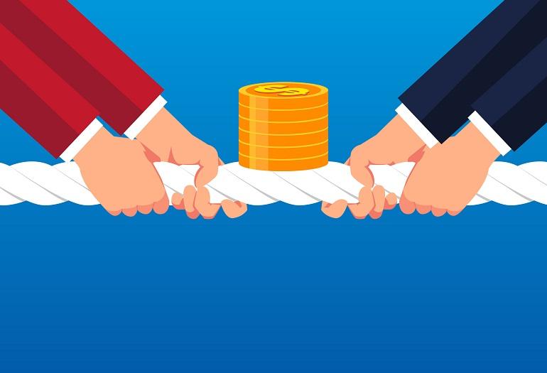 Contenzioso fra banca e cliente presunto debitore