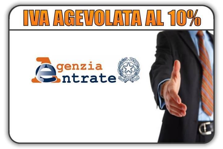 Aliquota IVA 10% manutenzione straordinaria