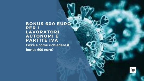 Bonus 600 euro Covid-19 - Al via le domande
