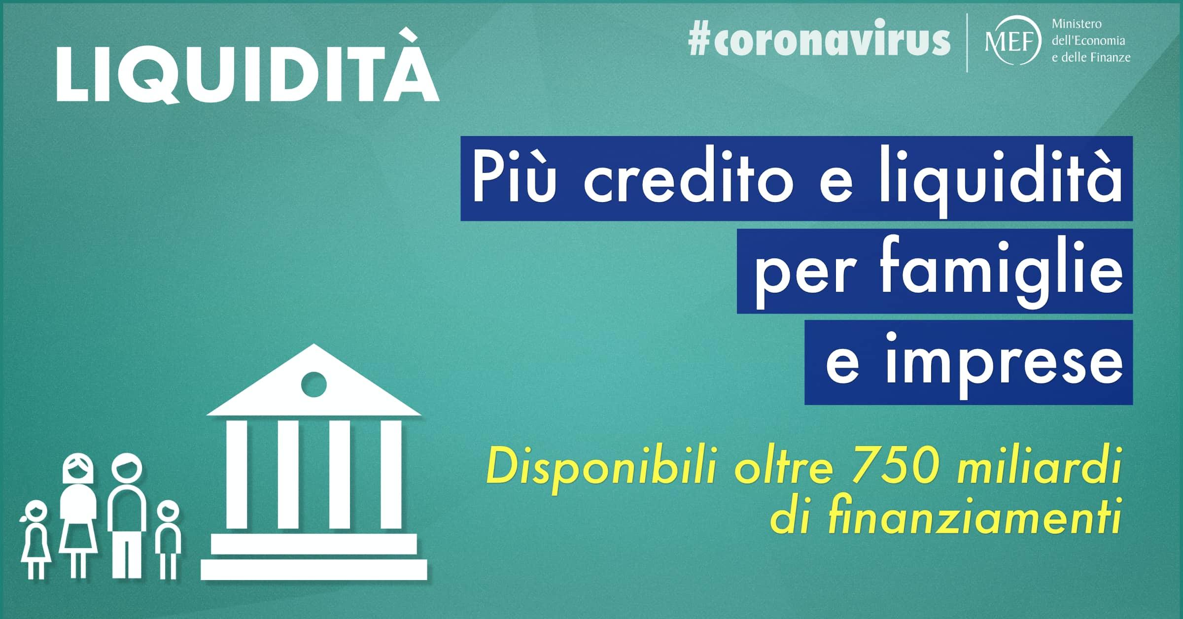 Emergenza Coronavirus » Decreto legge liquidità (versione bollinata)